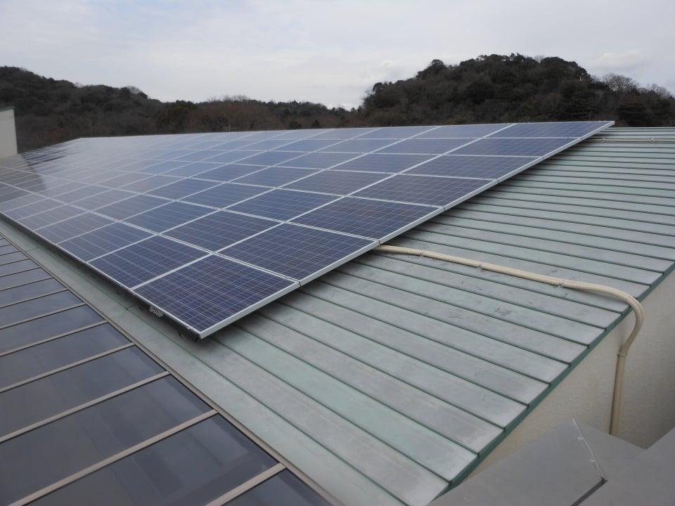 太陽光発電を設置しました